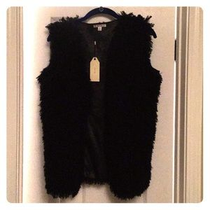 Max Studio black vest